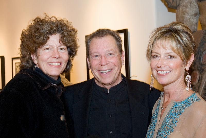 Nancy Avedisian, photographer Tony Bonanno, and Janeal Arison