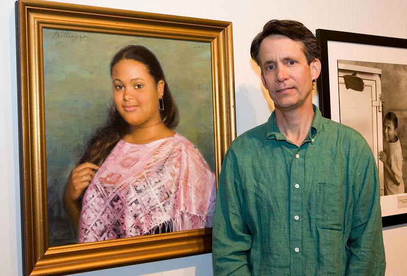 Portrait painter Ned Bittinger