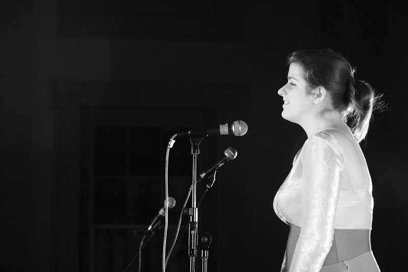 Becky singing