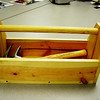 a simple carpentry project<br /> basic carpentry skills: measuring, cutting, drilling, finish work.