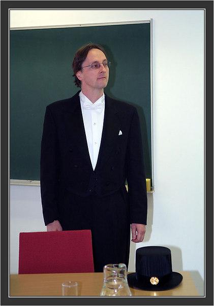 Dissertation & Karonkka of Ines Klemme.<br /> The Opponent: Professor Heribert Hofer.