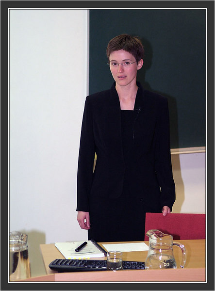 Dissertation & Karonkka of Ines Klemme.<br /> Defending the thesis: Ines.