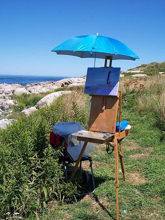 2006 Artist Days on Thacher Island