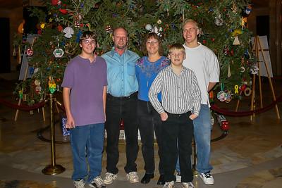 Family - Jim Busse Family - Dec 25, 2004