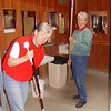 Cleaning the bathrooms is always a thankless job -- well, thank you ladies for giving the bathroom a good polishing!