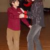 Andre Kouchekey dances with Christine Raposo.