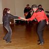 Christine dances with her dad, J.J. Raposo.