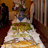 The fabulous buffet dinner catered by Dominic's at Emerald Hills was enjoyed by all.