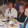 Bill and Jeane Ashton, Barbara Stogner and Noel Moody enjoy the excellent dining.