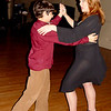 Andre dances with his mom, Nancey Kouchekey.