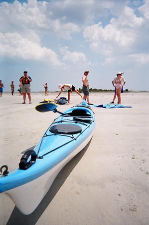 2006 May - Morris Island Kayak Trip
