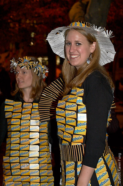 Bridesmaid Nancy and Fashion Diva Colleen