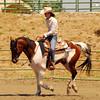 """Jill Latno-Yamati riding """"Peppy Renegade"""" #160"""