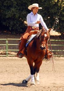 """Denise Ramirez riding """"Hobbys Gun Theif"""" #171"""