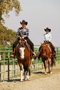 Riders in the Western Equitation Walk/Jog Jr/Am Class
