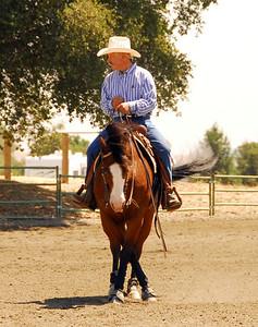 """Butch Coggins #219 riding """"Doc Squaw Chex"""""""