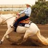 "Josie Hall riding ""Jac Frost"" #211"