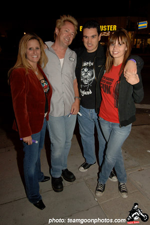The Channel 3 crew - American Hardcore Movie Premier - September 20, 2006 - Los Angeles, CA
