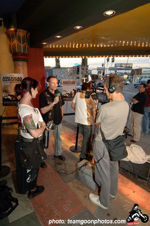 American Hardcore Movie Premier - September 20, 2006 - Los Angeles, CA