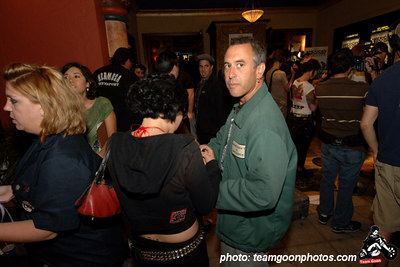 Shawn Stern of Youth Brigade - American Hardcore Movie Premier - September 20, 2006 - Los Angeles, CA