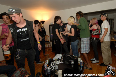Failed photo shoot turned into a party - Los Angeles, CA - August 2006 - Photo