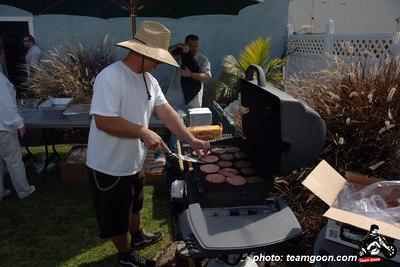 Party at Capt. Brad's - FOOD  - April 1, 2006