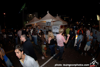 Crowd - Sunset Junction Street Festival - Silver Lake - Los Angeles, CA - August 2006 - photo