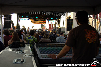 Sound board  - Sunset Junction Street Festival - Silver Lake - Los Angeles, CA - August 2006 - photo