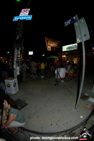 Sunset and Sanborn - Sunset Junction Street Festival - Silver Lake - Los Angeles, CA - August 2006 - photo