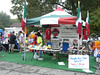 3 Gap/6 Gap Ride - Registration day, September 23, 2006 Vendors on the square.