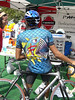 On of the more colorful shirts that was on the square - 3 Gap/6 Gap Ride - Registration day, September 23, 2006