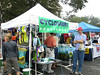 Ride shirts for sale - 3 Gap/6 Gap Ride - Registration day, September 23, 2006 Vendors on the square.