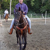 Amnon Levy riding in Noel Moody's Class