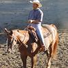 Art Ferranti rides in Joan McLaren's Class