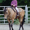 Graham Grisedale riding in Noel Moody's Class -- great coon skin hat!