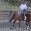 Butch Coggins riding in Jason Attard's Class