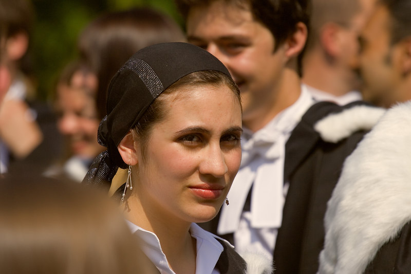 Amber in Downing before the procession<br /> <br /> Taken with a Canon 350D and a 70-200L f/4