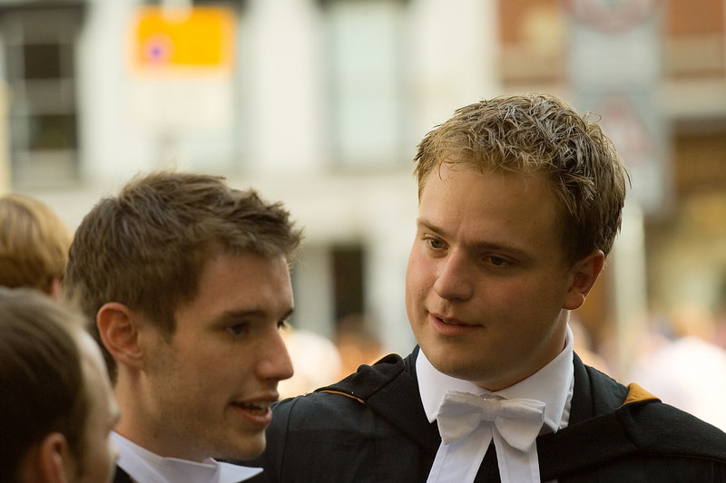 Outside the Senate House before the ceremony<br /> <br /> Taken with a Canon 350D and a 70-200L f/4