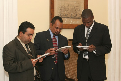 Multistakeholder Diplomacy Book Launch, 2006