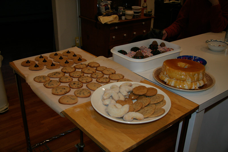Baking Cookies With Allison (12/02/2006)