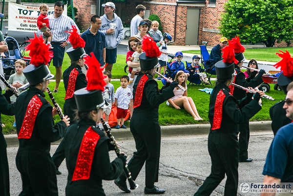 Hinsdale Central High School Marching Band