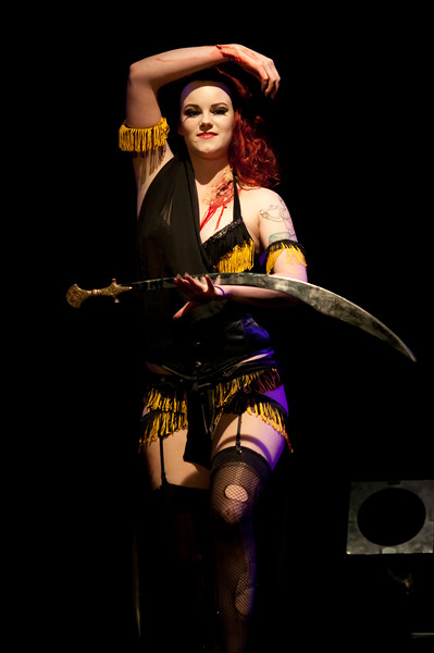 Luna Eclipse performing at Gorelesque 3