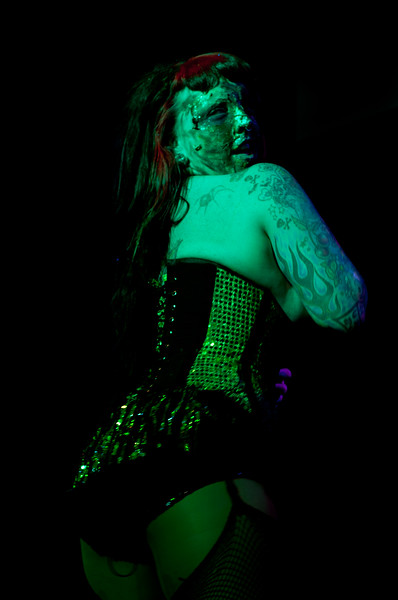 Miss Nic performing at Gorelesque 3
