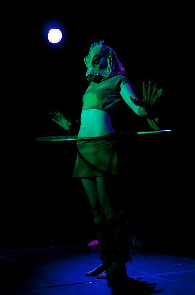 BB le Buff performing at Gorelesque 3