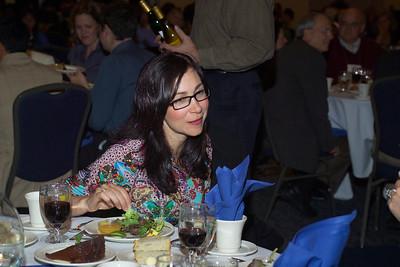 Ms. Isabel Cruz at the Saturday evening banquet.
