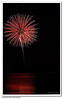 fireworks over grapevine lake