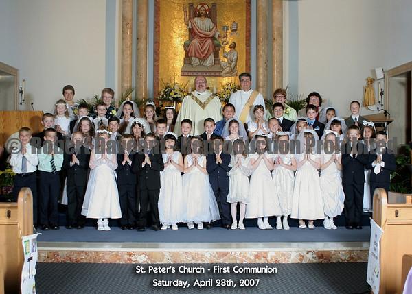 2007 First Communion