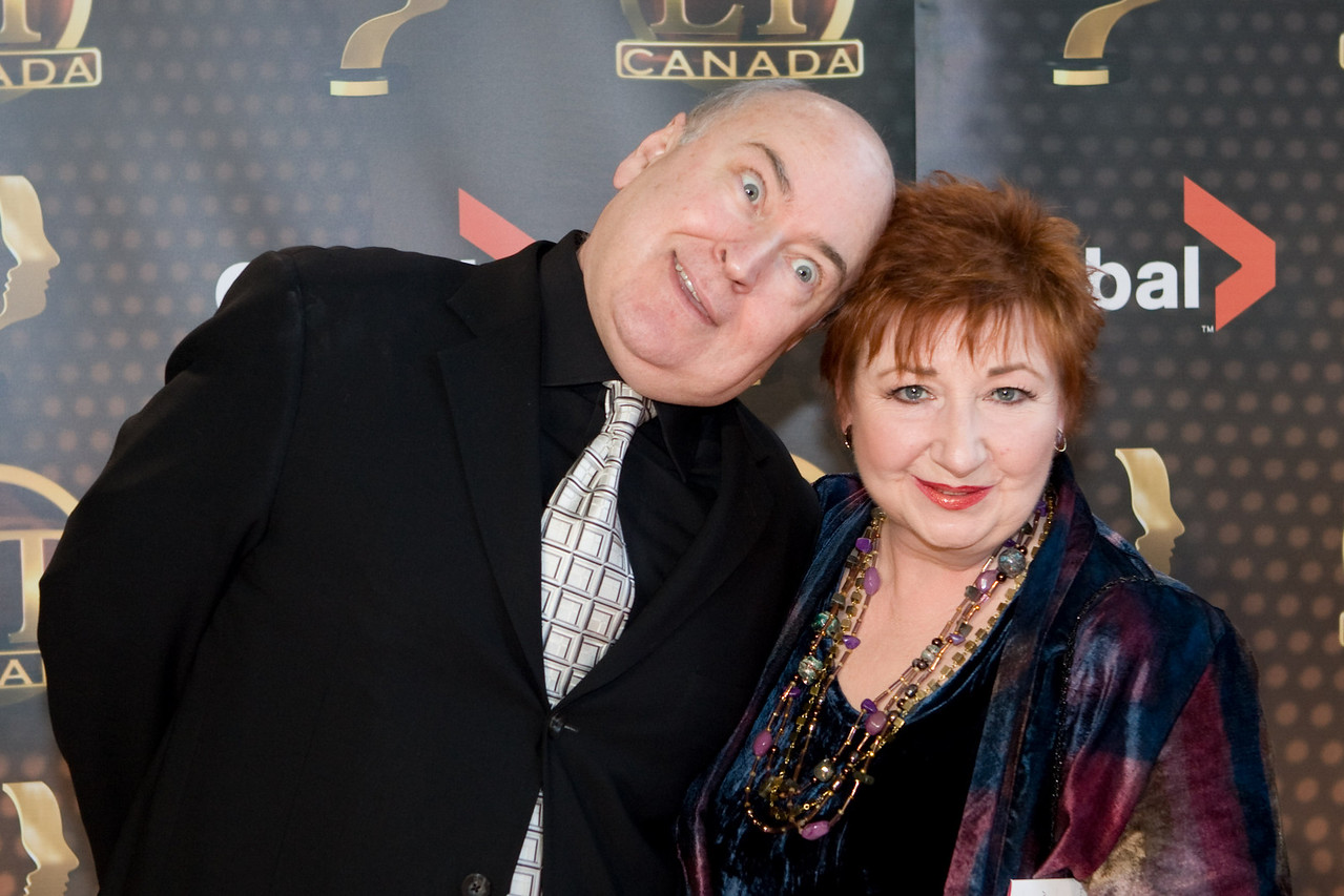 Roger Abbot, and Luba Goy from Air Farce