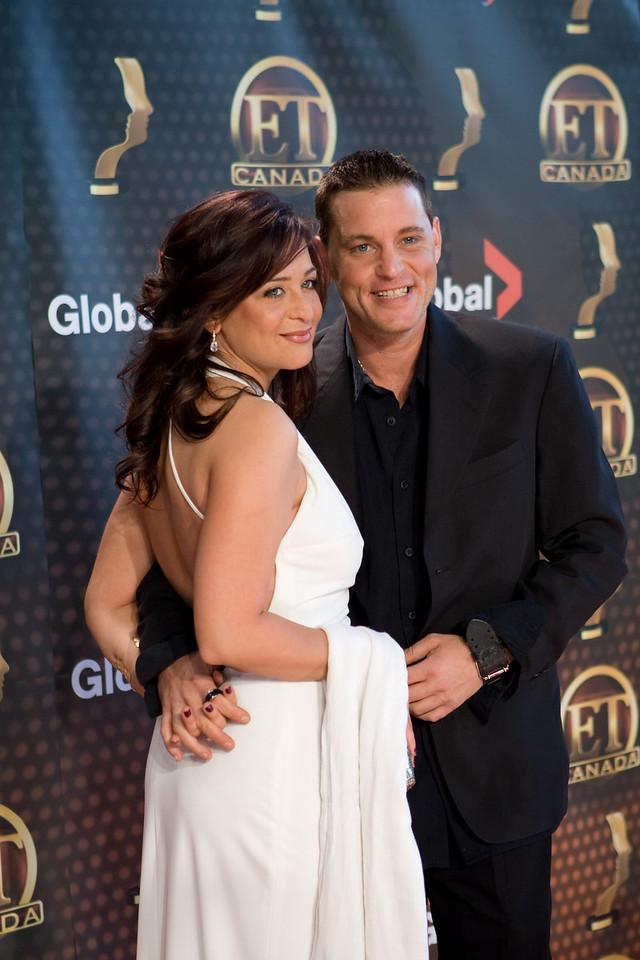Corey Haim, with his girlfriend Tonya Ibrahan
