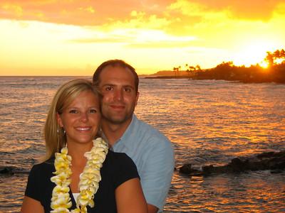 Kauai 4/2007 with Jotham and Ruth